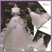 1A092 CX 2015 Sweetheart robes de mariée / dentelle ouverte en arrière-plan robe de mariée moderne palais classique A-Line robe de mariée noble