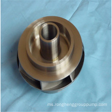 Precision casting wear-resistant steel blade wheel guide wheel