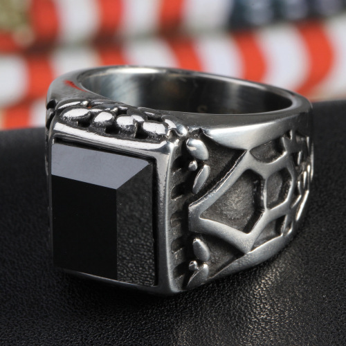 Black spar ring