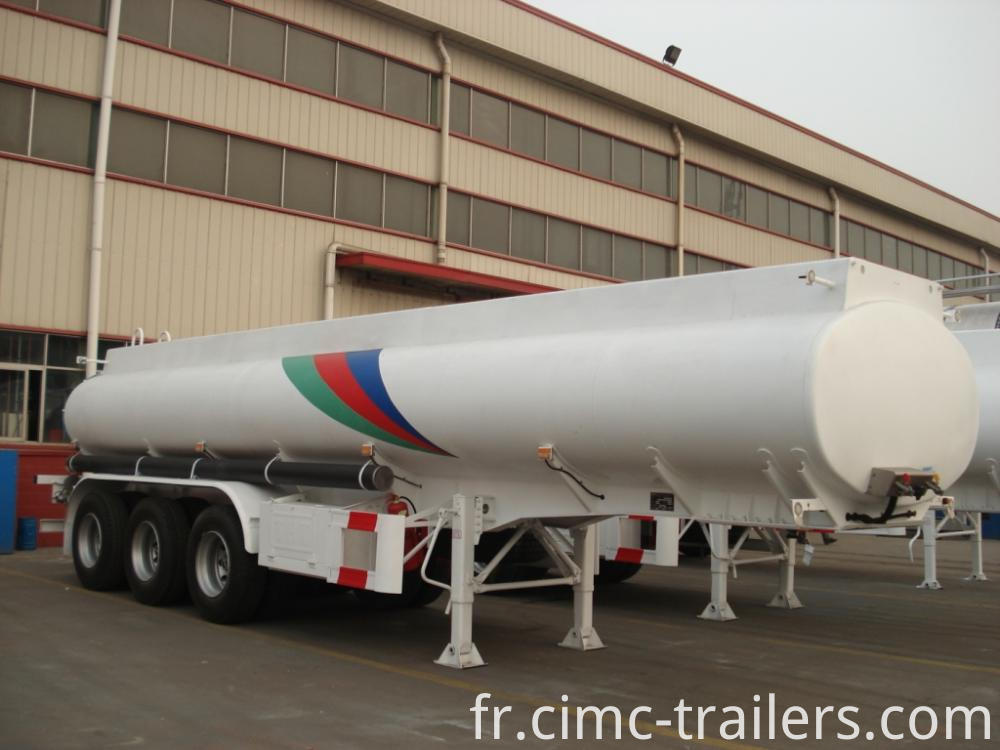 Rf Road Tank Semi Trailer For Transporting Sulfuric Acid