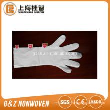 masque de main en plastique jetable feuille double couche
