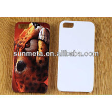 sublimation 3d mobile phone covers phone5 case