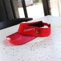 PVC combine cotton sun visor cap sports cap