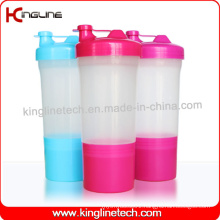 500ml plastic protein shaker bottle(KL-7022)