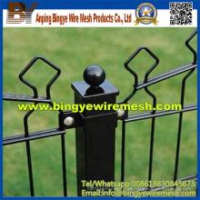 Fábrica europea de la cerca de alambre del doble del estilo de la alta calidad