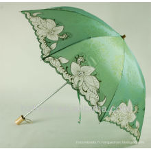 Mode dentelle 2 pliant parasol