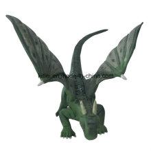 Eco-Friendly Polyresin Fly Mini dinossauro de plástico Cartoon Dragon Kid Brinquedos