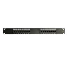 Пользовательская высококачественная коммутационная панель Cat5e 16 портов