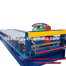 Xinnuo 2016 nouveau design russia type c16.5 couleur feuille d'acier rouleau rollformingmachine chine fournisseur
