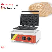 6 pcs mini peixe máquina de waffle
