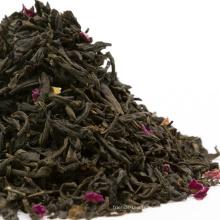 Thé noir parfumé à la rose parfumé au thé noir