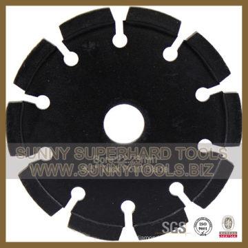 Disco de lâmina Diamond Tuck Point para ranhura de circuito