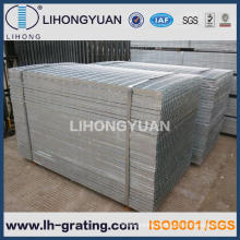 Hot Dipped Galvanizing Plain Steel Grating for Walkway