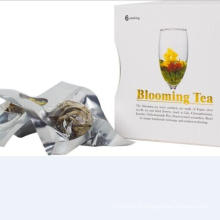 Thé à fleurs emballées par cadeau