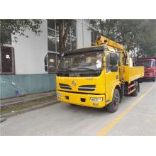 DFAC guindaste hidráulico de 5 toneladas montado em camião