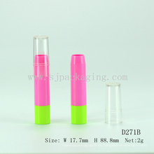 Embalaje de lápiz labial personalizado de forma de pluma