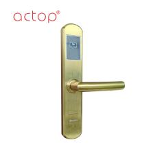 Cerradura de manija de puerta de hotel inteligente