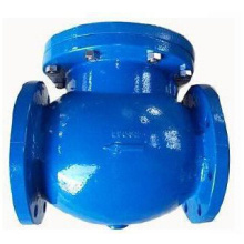 DIN cast iron swing flange end check valve