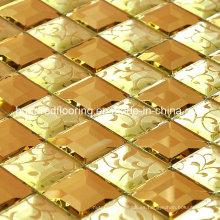 Mosaico de vidrio de diamante Mosaico (HD044)