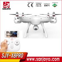 Original SYMA X8 PRO GPS RC Drone Quadcopter con la cámara de Wifi 720p FPV 6axis Ggro Auto Posición de Retorno Holding Flying Helicopter