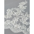 GR-01 New Arrival Lace Appliques Wedding Veil 3 Metros One Layer Long nupcial Veils