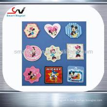 Magnets mickey mouse populaires imprimés imprimés