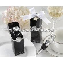 Venda quente personalizado rolhas de garrafa de vinho de cristal fornecedores