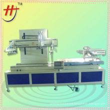 HS1000PX automatic flatbed screen printer machine with unload device from dongguan city