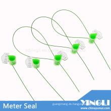 Anti-Reverse Clear Security Meter Seal mit Laserdruck