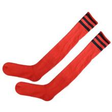 2014 Cheap Wholesale Soccer Sock Classic Long Football Socks Blank Man Sock