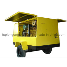 Diesel Engine Movable Rotary Screw Scroll Air Compressor (TDS-17/7 132kw)
