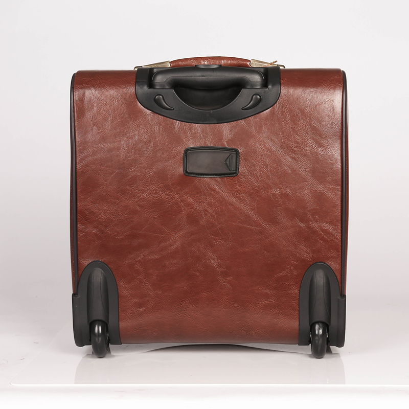 cheap fashion PU 4wheels Luggage