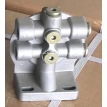 Cabezal del filtro de combustible del motor