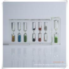 Acryl Sanduhr Sand Timer Uhr Werbegeschenk Artikel (OI13001)