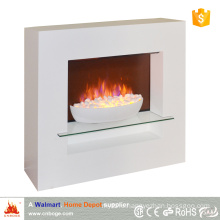2016 new design modern bowl style decorative electric fireplace heater
