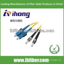SC-ST monomode duplex fibre optique cordon de raccordement fabricant avec haute qualité