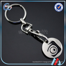 Sedex 4p Ring Custom Key Rings Porte-monnaie pour Euro Coins