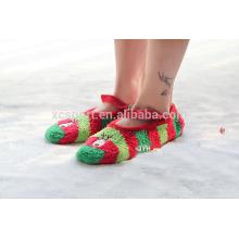 El estilo al por mayor de la Navidad de los productos espesa y calienta los calcetines de la cama de los hombres