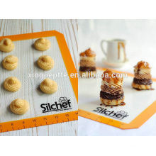 New launched products non stick silicone baking mat 16 5/8 x 11