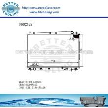 Radiador Para TOYOTA 01-03 Sienna Auto 164000A210 Fabricante y Venta Directa