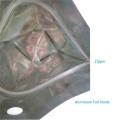 Bolsa de plástico con cierre hermético de papel de aluminio personalizado