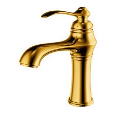 Robinet de lavabo à levier unique robinet de lavabo laiton doré