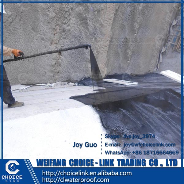 water-based two component PU waterproof coating