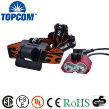 2 CREE XML LED Rechargeable Cyclisme Lampe frontale Bike Light Nice Well