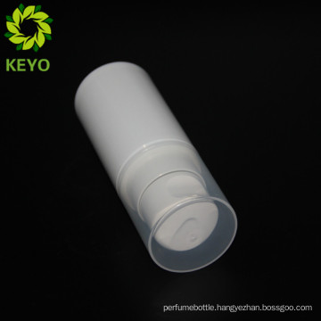 60ml pump bottle airless cream white pp airless containers for cosmetics