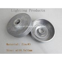 Base de iluminação LED / liga de zinco Die Casting