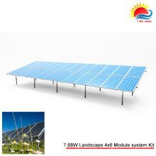 Support portatif de bâti de carport de panneau solaire (GD911)
