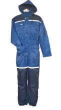 Construction coverall hi vis safety workwear