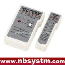 Testador de cabos para UTP STP RJ45, RJ11, RJ12