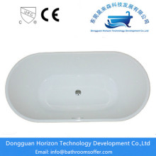 Factory made hot-sale for Stand Alone Irregular Bathtub Oval Shape Acrylic bathroom hydraulic tubs export to Poland Manufacturer